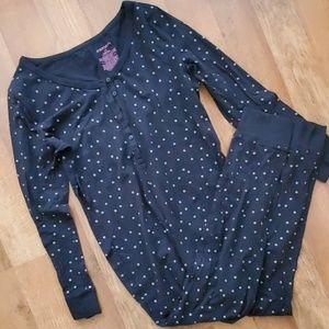 Black/silver pajamas
